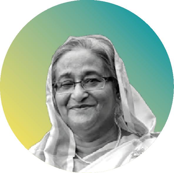<center>H.E. Sheikh Hasina</center>